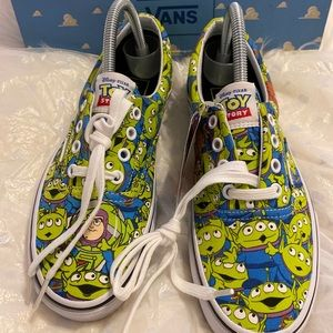 Vans Toy Story Alien Sneakers